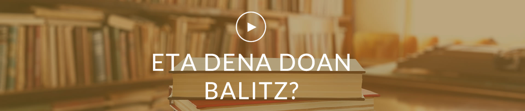 ETA DENA DOAN BALITZ?
